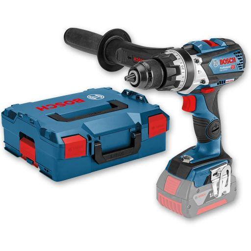 Bosch GSB 18V-85 C Brushless Combi Drill & L-BOXX (Body Only)