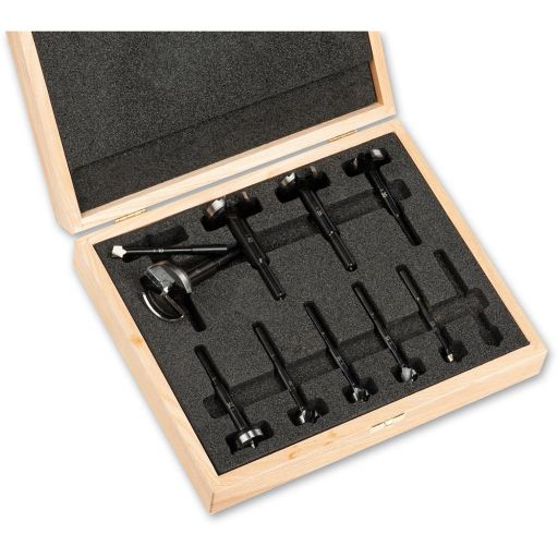 Axcaliber ECO Forstner Cutter Set Of 10 In Wooden Box