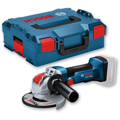 Bosch GWX 18V-8 Angle Grinder 125mm & L-Boxx 18V (Body Only)