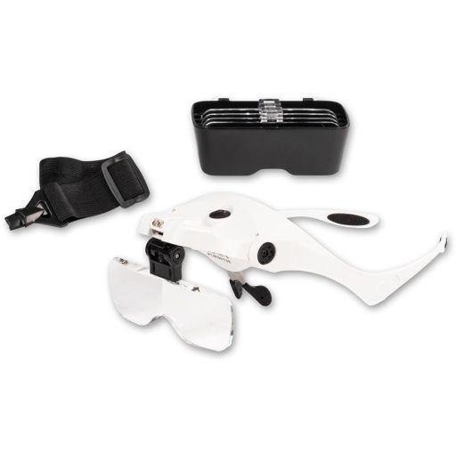 Lightcraft LED Magnifier Spectacles & Headband