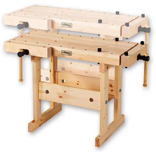 Sjobergs Dual Height Compact Bench