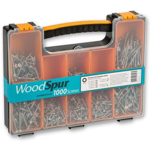 WoodSpur A4 Stainless Steel Torx Head Screw Trial Pack