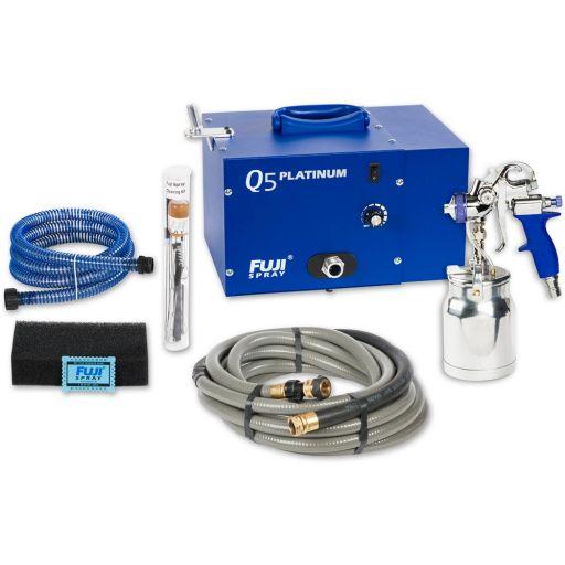 Fuji Spray Q5 Platinum Turbine Unit & T70 Spray Gun
