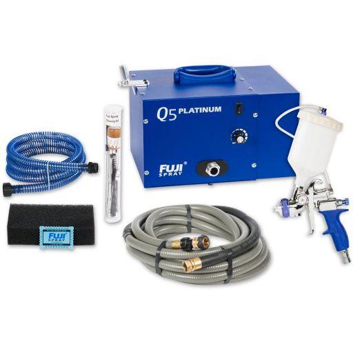 Fuji Spray Q5 Platinum Turbine Unit & T75 Spray Gun