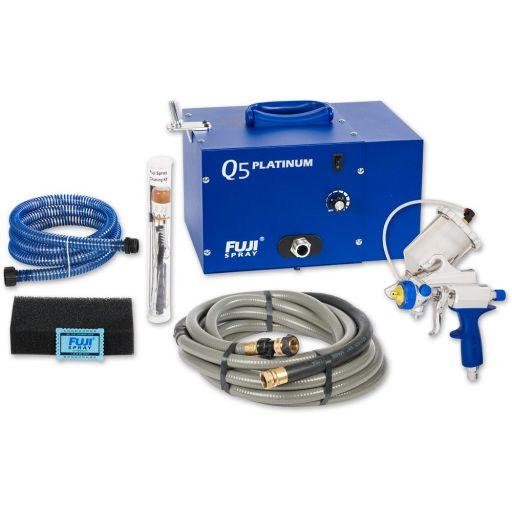 Fuji Spray Q5 Platinum Turbine Unit & G-Xpc Spray Gun