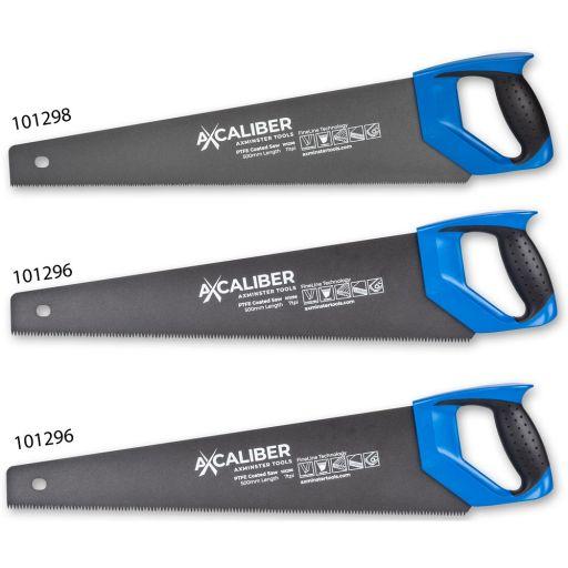 Axcaliber FineLine PTFE Coated Saws - Set of 3