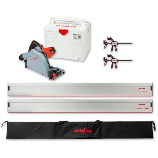 Mafell MT 55 cc Saw with Guide Rail Set - 230V
