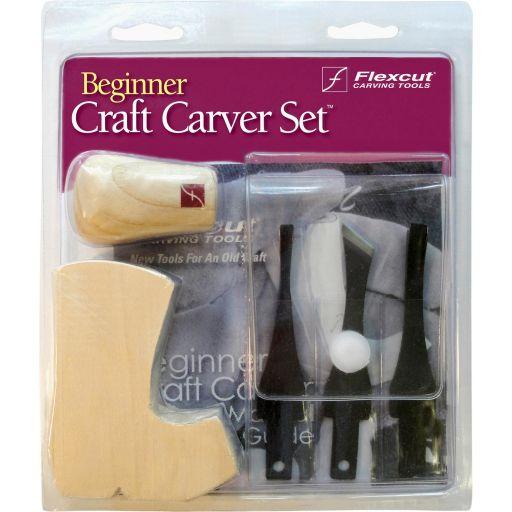 Flexcut SK110 3 Blade Craft Carving Set
