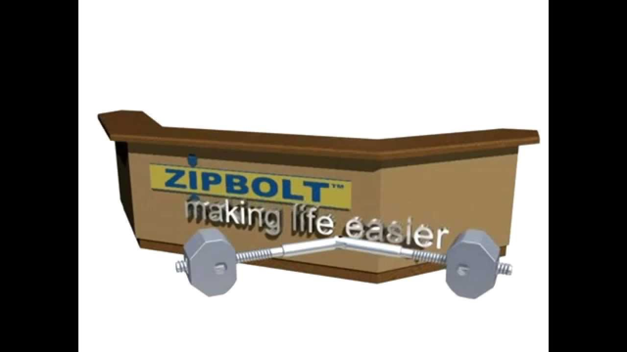 Zipbolt Full Mitre Handrail Connector