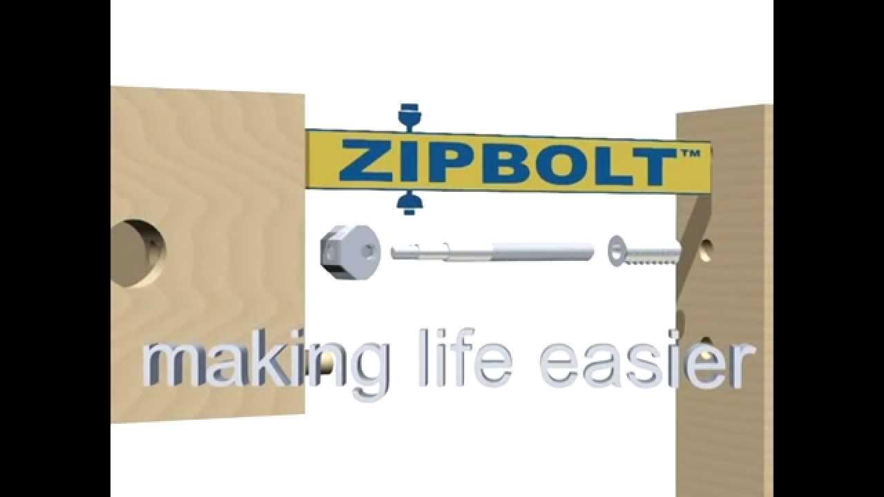 Zipbolt Midi KD Straight Connector