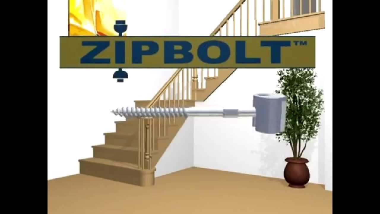Zipbolt Straight Handrail Connector