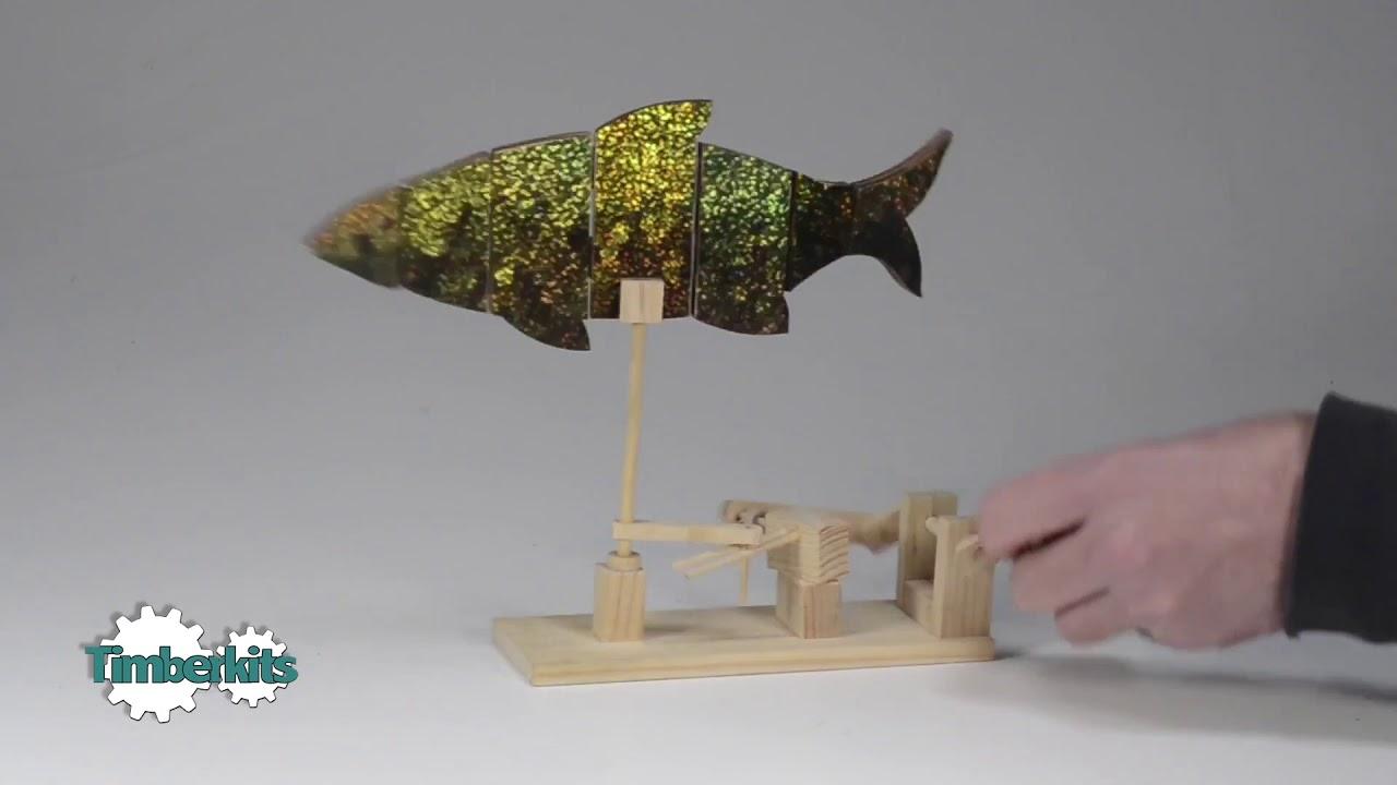 Timberkits Beginner Kit - Fish