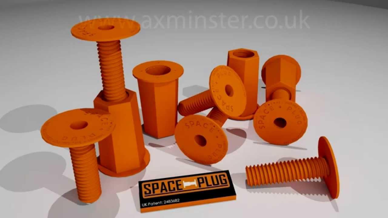 Space-Plug - Adjustable Cabinet Spacer Reg (Pkt 10)