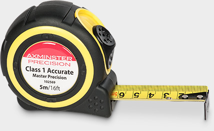 Axminster Master Precision Tape 5m/16ft