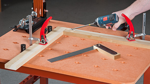 UJK Technology Compact MultiFunction Table & 2 x 40mm Twist Dogs