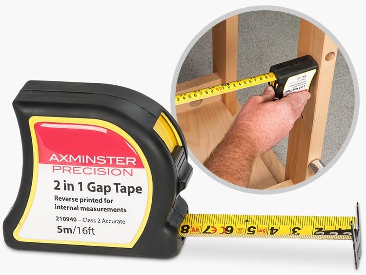 2 in 1 Gap Tape - Class 2 Accurate