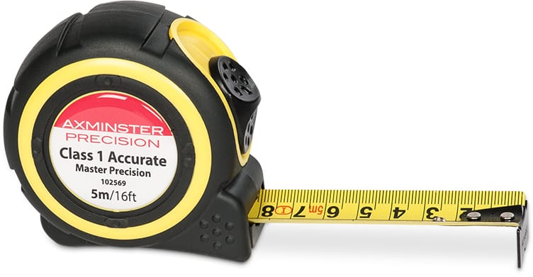 Master Precision Tape Measure - Class 1 Accurate