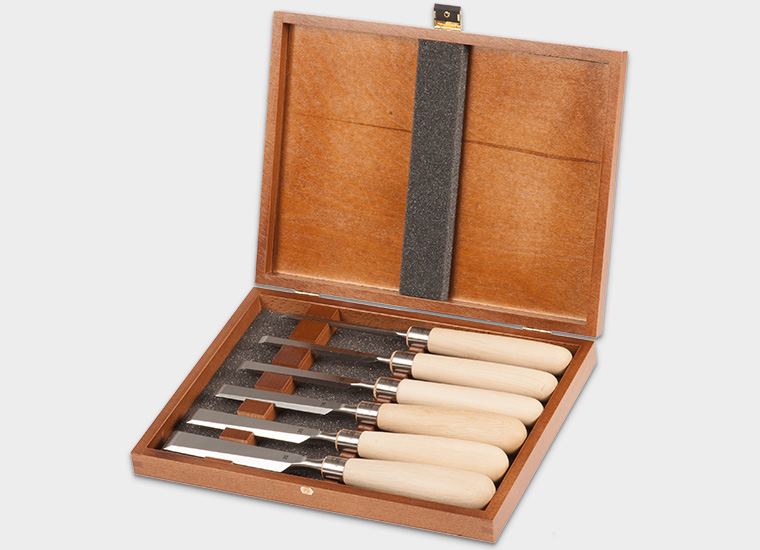 Axminster Rider 6 Piece Bevel Edge Chisel Set