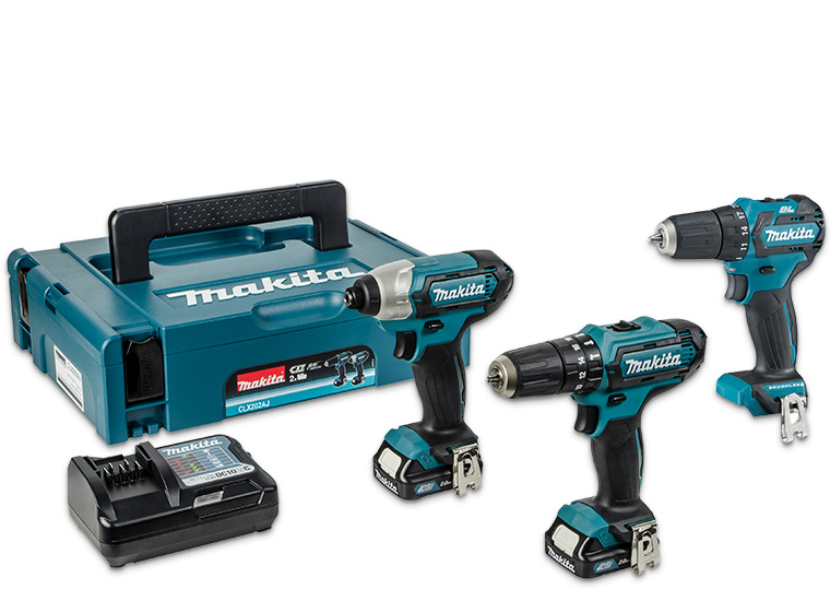 Makita Combi & Impact Kit + Drill Driver