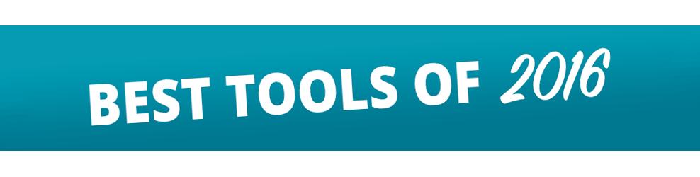 Best Tools of 2016