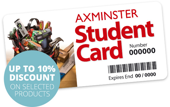 Axminster Student Card