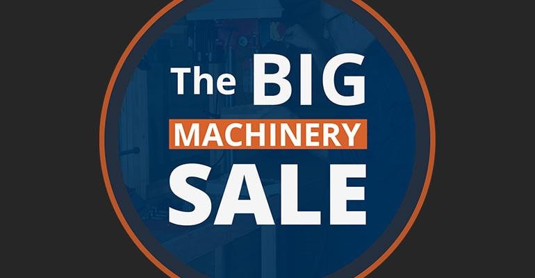 Big Machinery Sale