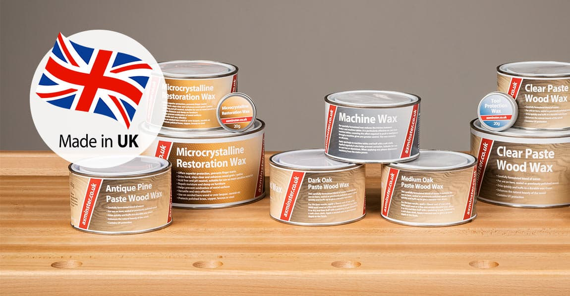 New Waxes - made in UK