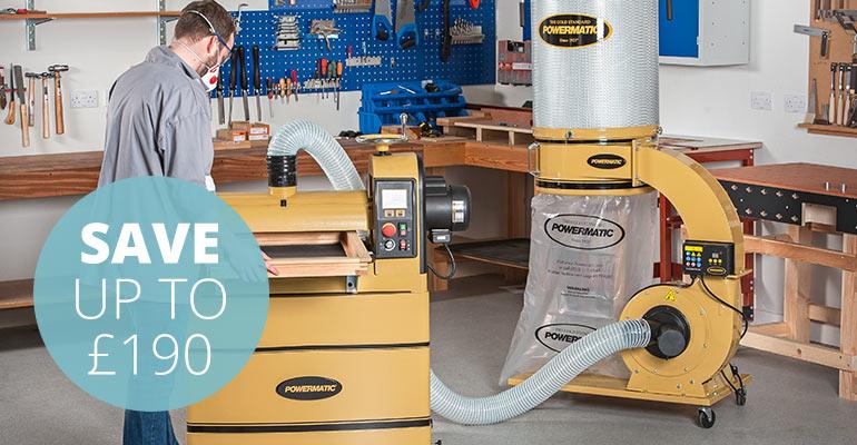 Powermatic Extractor Offers