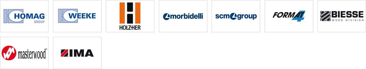 CNC partner logos