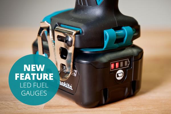 New feature - LED Fuel Gauges
