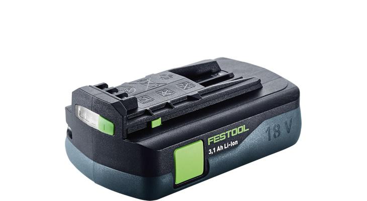 Festool Li-Ion 18V 3.1Ah Battery Pack
