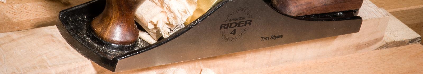 Rider & Veritas Plane Engraving