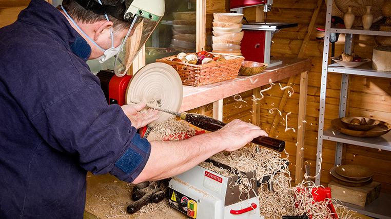 Axminster Hobby Series AH-1218VS Woodturning Lathe
