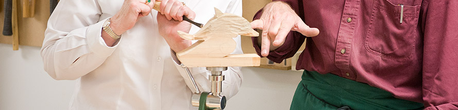 Book a carving course today