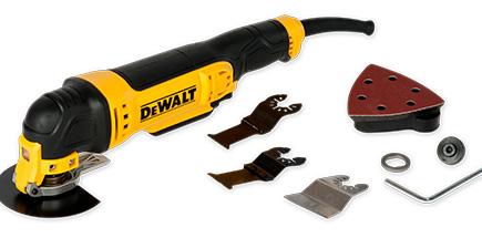 DeWalt Multi-functional tool with accessories