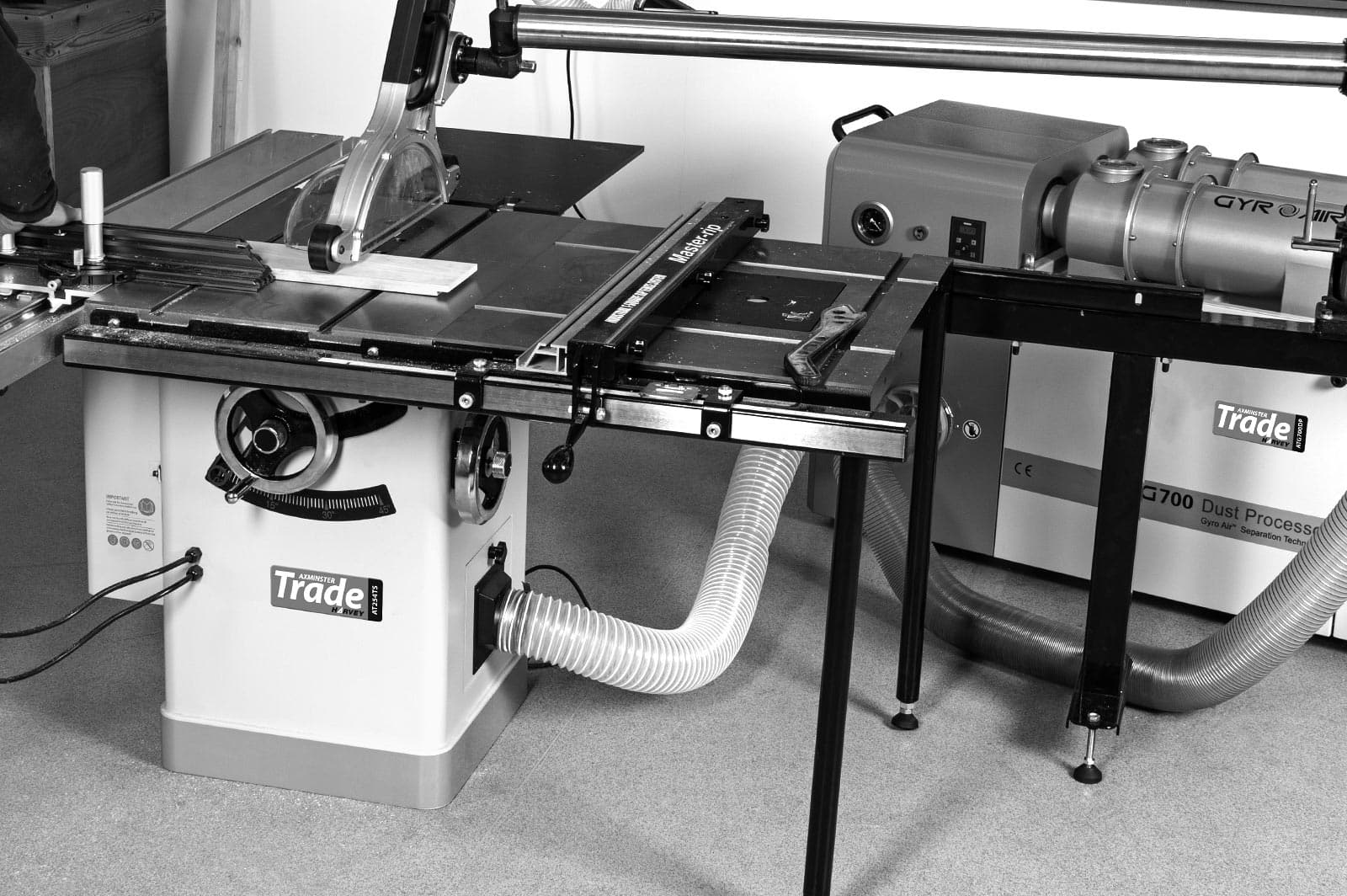 New Axminster Trade table saw