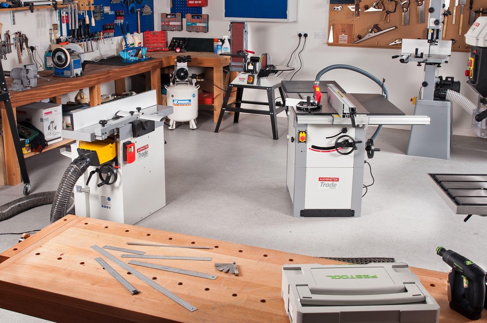 Axminster Trade Series machinery