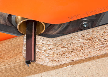 Guaranteed superior finish to worktop joints
