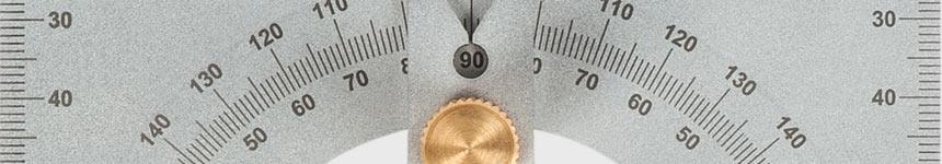 Axminster Precision protractor