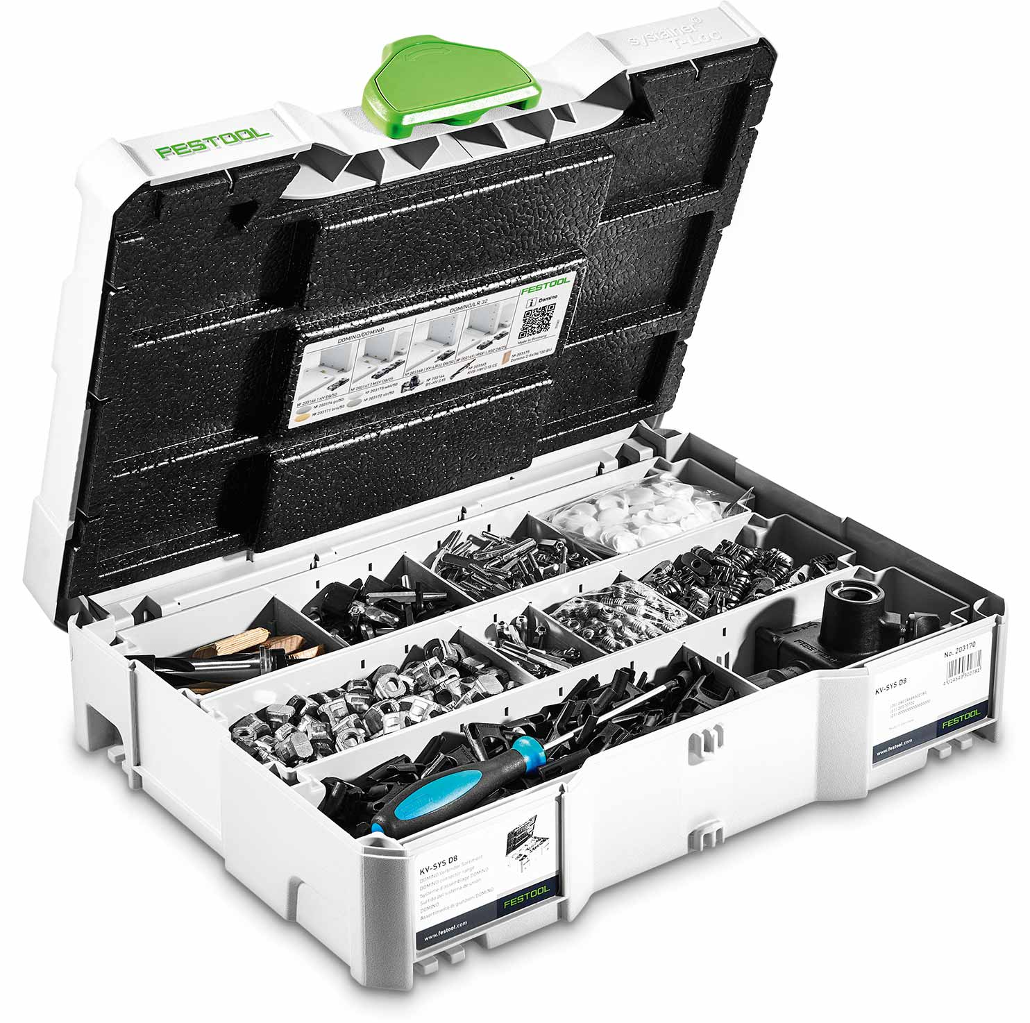 Festool DOMINO DF 500 Connector Set KV-SYS D8