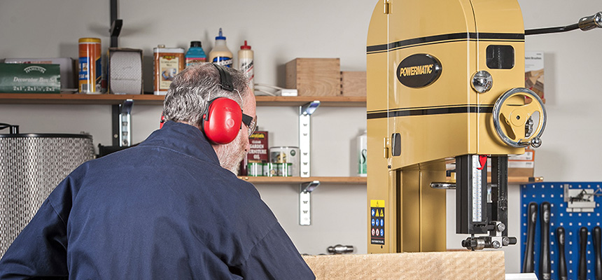 Powermatic PM1500 Bandsaw 415V | Axminster Tools & Machinery