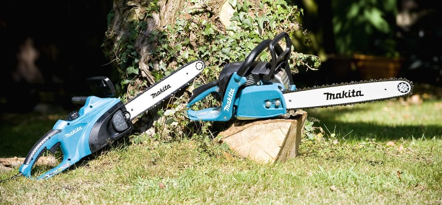 Makita uc3541a2 electric chainsaw chainsaws saws power tools look after your chainsaw download makitas free guide keyboard keysfo Images