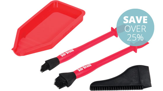 Sili-Brush Non-Stick Glue Kit