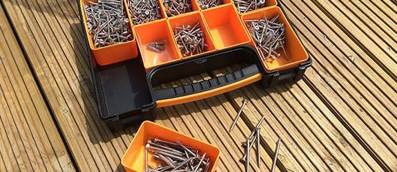 WoodSpur Stainless Steel Screws