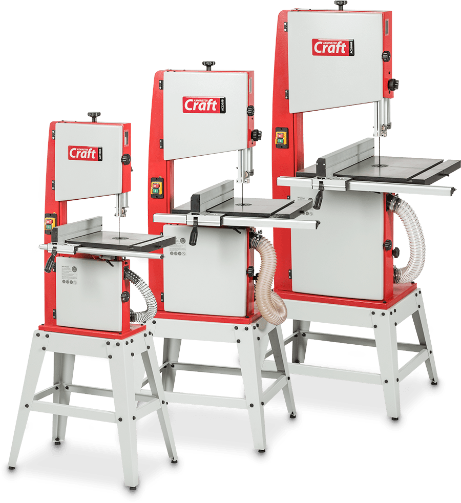 New Axminster Craft Bandsaws