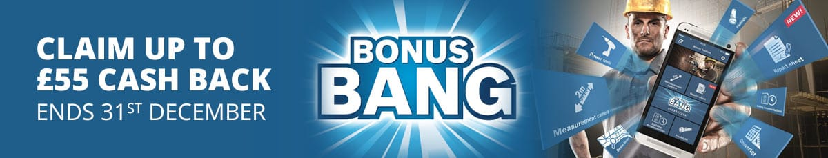 Bosch Bonus Bang... earn up to £55 cash back. Offer ends 31st December 2017.