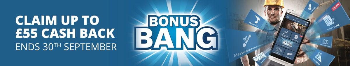 Bosch Bonus Bang... earn up to £55 cash back. Offer ends 30th September 2017.