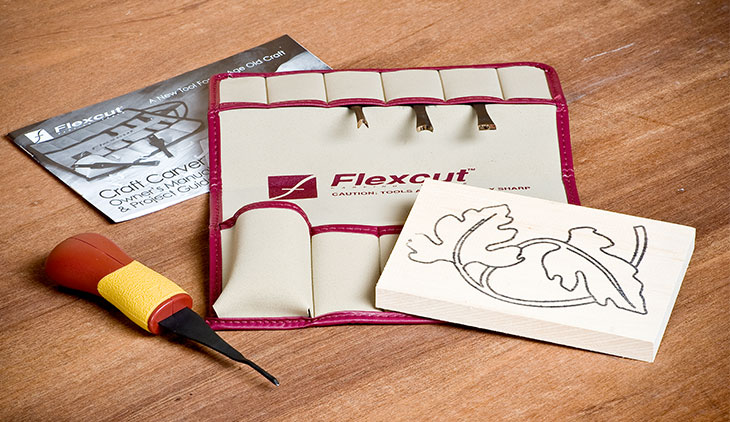 Flexcut 5 Piece Craft Carver Set