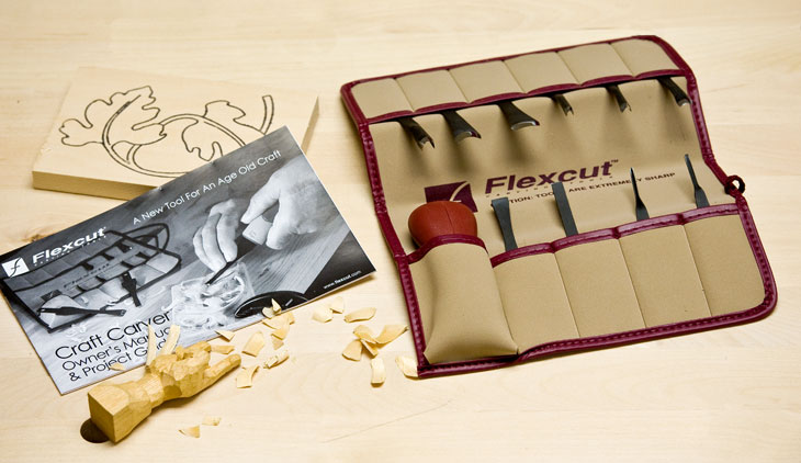 Flexcut 11 Piece Craft Carver Set