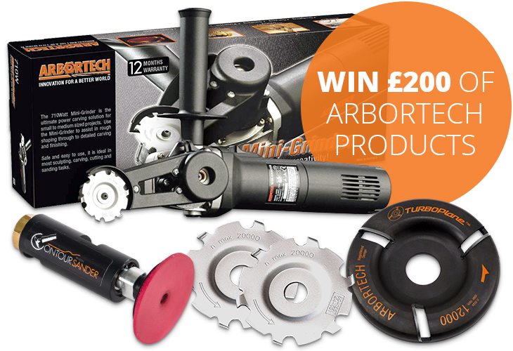 Win £200 of Arbortech products